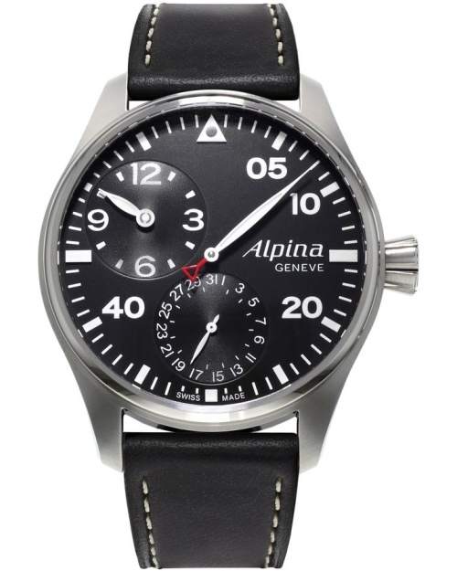 Alpina Startimer Pilot Manufacture Regulator