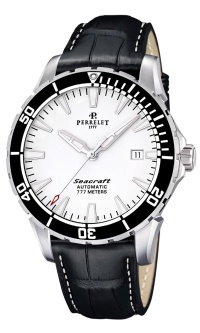 Perrelet Seacraft 3 hands and GMT