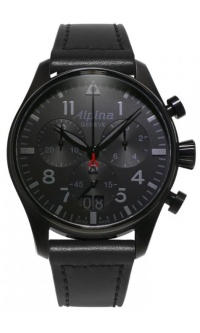 Alpina Startimer Pilot Chronograph Big Date Shadow Line