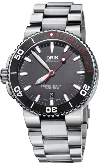 Oris Aquis Red Limited Edition 01 733 7653 4183-Set MB + natahovač zdarma