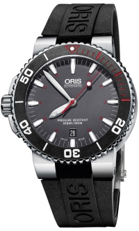 Oris Aquis Red Limited Edition 01 733 7653 4183-Set RS + natahovač zdarma