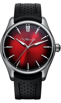 H.Moser & Cie Pioneer Seconds Swiss Mad Red